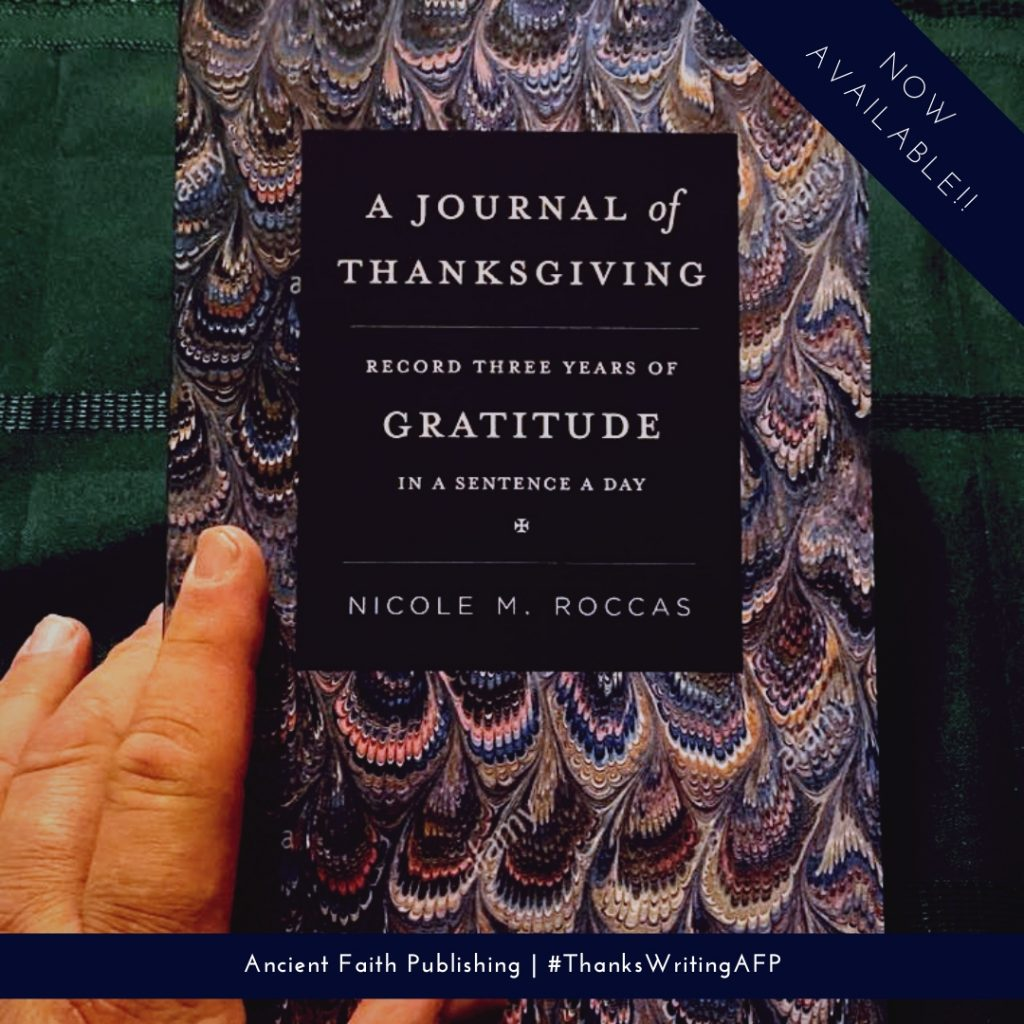 Picture of gratitude journal cover