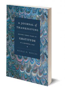 A Journal of Thanksgiving